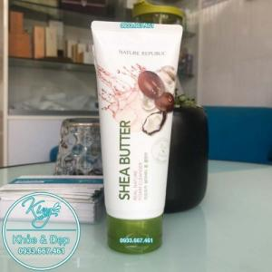 Sửa Rửa Mặt Nature Republic Shea Butter Real Nature Foam Cleanser