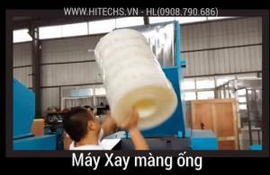 Máy xay màng co, băm nhựa màng cuộn, Hitech-1CR800