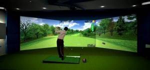Thi công phòng golf 3D, 3D simulator