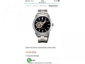 Đồng hồ Orient Star SDA02002B0