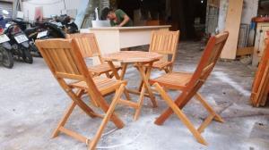 Bàn ghế quán coc làm tại xưởng sản xuất ANH KHOA
