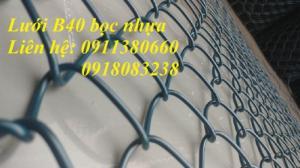 Lưới B40 bọc nhựa, quy cách 10m, 15m/ cuộn. Hàng có sẵn
