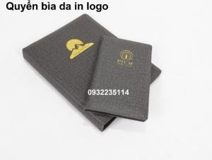 Quyển bìa da trong khách sạn, quyển bìa da in logo khách sạn