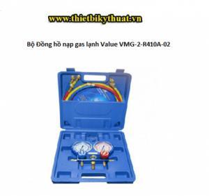 Bộ Đồng hồ nạp gas lạnh Value VMG-2-R410A-02