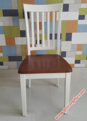 Ghế gỗ bàn ăn gỗ cao su nhập khẩu cao cấp
