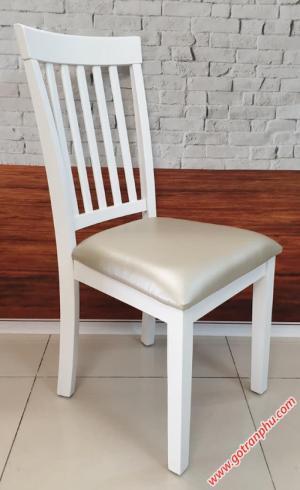 Ghế bàn ăn cao cấp gỗ cao su nhập khẩu (bọc nệm)