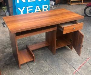Bàn ghế văn phòng làm việc 1m gỗ melamine