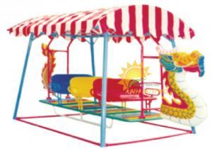 Xích đu thuyền rồng trẻ em cho trường mầm non, công viên, sân chơi, TTTM