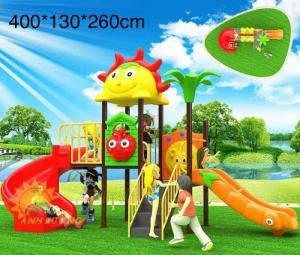 Bộ liên hoàn cầu trượt cho trường mầm non, khu vui chơi, công viên (sẵn hàng)