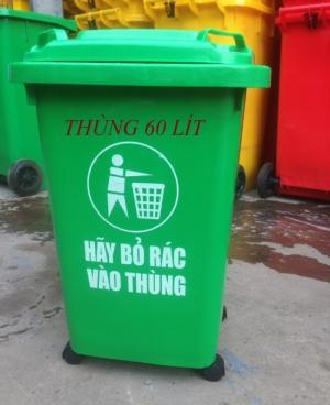 Thùng rác vệ sinh môi trường
