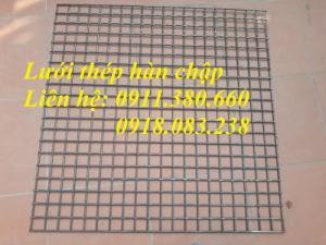 Lưới thép hàn D6 ô50x50, ô50x100, ô100x100,... sản xuất theo yêu cầu