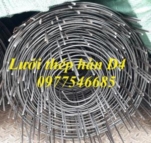 2020-05-26 15:46:58  3  Lưới thép hàn chập D4a150x150,lưới thép hàn đổ sàn 15,000