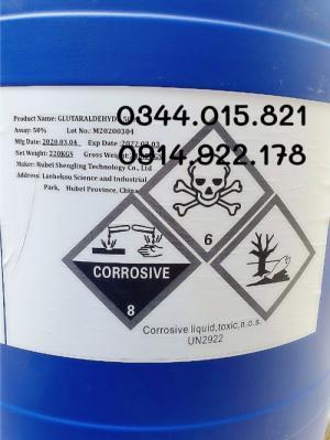2020-05-26 15:21:58  2  Glutaraldehyte 50 % diệt khuẩn, sát trùng ao nuôi 48,000