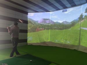 Sở hữu phòng tập Golf 3D đẳng cấp thượng lưu