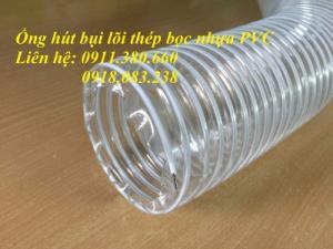 2020-05-26 15:56:27  3  Ống hút bụi lõi thép bọc nhựa PVC 10m/cuộn, hàng có sẵn 43,000