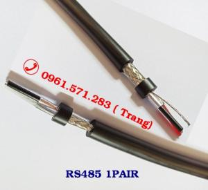 Cáp RS485 chuẩn 24awg, 22awg, 18awg