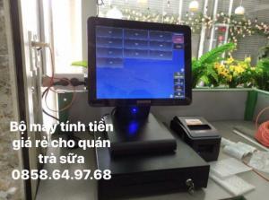 2020-05-26 17:09:24  2  Lắp đặt trọn bộ máy tính tiền giá rẻ cho quán trà sữa tại Đăk Mil 100,000
