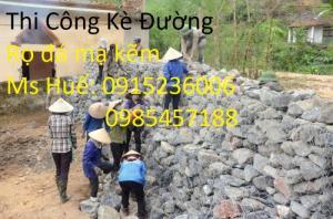 Nhật Minh Hiếu sản xuất Rọ Đá mạ kẽm, Rọ đá bọc nhựa theo yêu cầu khách hàng