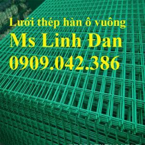 Lưới thép hàn bọc nhựa, chuyên cung cấp lưới thép hàn bọc nhựa, lưới thép hàn