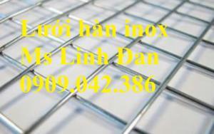Lưới hàn inox, lưới hàn inox ô vuông, chuyên cung cấp lưới hàn inox, lưới hàn