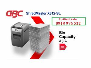 Máy hủy tài liệu GBC Shredmaster X312