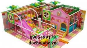 Chuyên thicông thiết kế khu vui chơi trẻ em tại gia lai