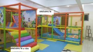 Thi công thiết kế khu vui chơi trẻ em tại quảng nam