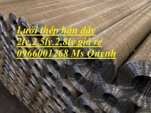 Lưới chát tường,lưới thép hàn trang trí,lưới đổ sàn bê tông D1D2,D3,D4 giá rẻ