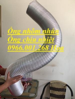 Ống nhôm nhún ,Ống bán cứng D100,D125,D150,D200,D250,D300,D350