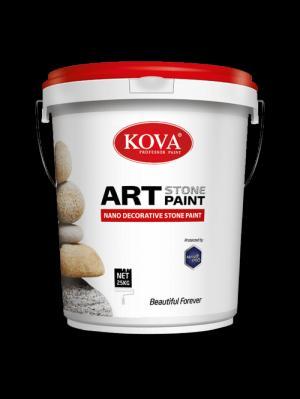Đại lý cung cấp sơn giả đá kova cho các công trình giá rẻ