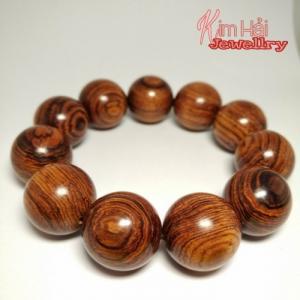 Vòng đeo tay gỗ sưa chuỗi hạt 18 ly