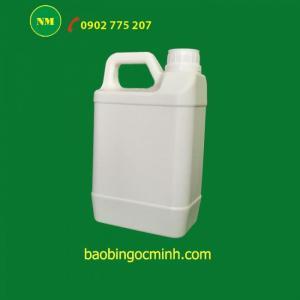Can nhựa 5 lít,Can nhựa 5L đựng phân bón, Can nhựa 2 lít đựng nước rửa chén,