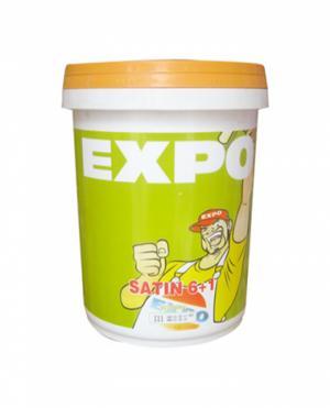 Sơn nước ngoại thất expo satin 6+1 thùng 18 lít giá rẻ tại TPHCM