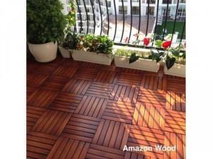 Sàn gỗ Tràm Bông tự lắp rắp