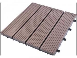 Vỉ gỗ nhựa lót sàn ngoài trời composite