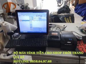 Lắp đặt máy tính tiền cho shop thời trang giá rẻ tại BMT