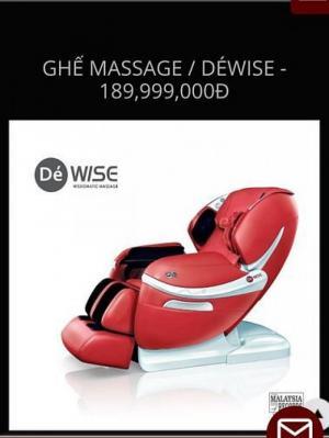 Thanh lý nhanh giá cực rẻ ghế Massage GinTel Malaysia SX,BH 2 năm.