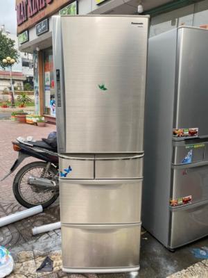 Tủ lạnh nội địa PANASONIC NR-E433T-H 427L,có bảng điều khiển bên ngoài