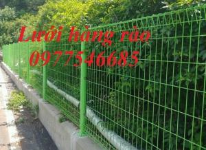 Hàng rào mạ kẽm chấn sóng, hàng rào lưới thép hàn,hàng rào bảo vệ