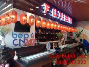 Quầy buffet line giá rẻ