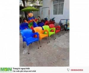Các mẫu ghế nhựa mới nhất