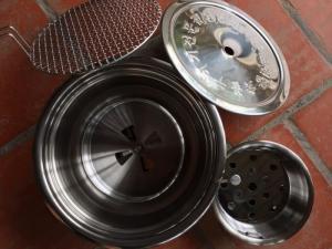 Bếp nướng hút dương Hàn Quốc đặt âm bàn giá rẻ