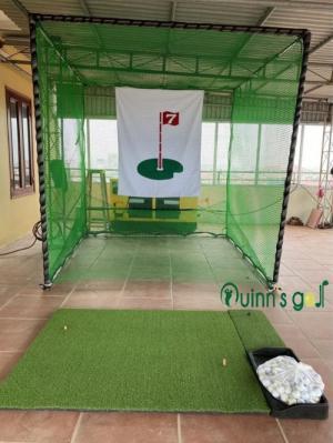 Bộ khung lều tập golf 2.6mx2.6m tháo lắp tại nhà
