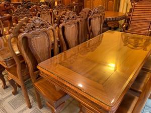 Top bộ bàn ăn 6 ghế đẹp dành cho diện tích nhỏ