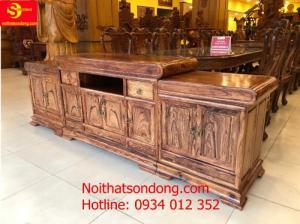 Địa chỉ bán tủ tivi gỗ cẩm lai chất lượng