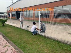 Hàng rào sơn tĩnh điện giá tốt, chất lượng uy tín