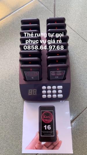 Bán thiết bị báo rung tự gọi phục vụ giá rẻ tại Phú Yên