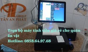 Phú Yên bán bộ máy tính tiền giá rẻ cho quán ăn vặt