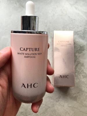 Serum dưỡng AHC Capture White Solution Max Ampoule xách tay Hàn Quốc