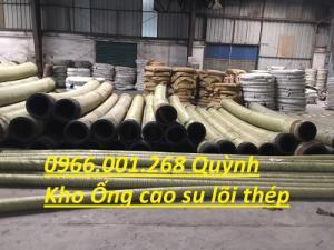 Ống cao su lõi thép hút cát Trung Quốc,Việt Nam D100,D125,D150,D200,D220,D250